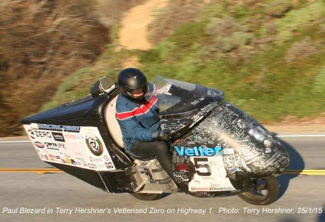 Blez Drives Terry Hershner's Electric Iron Butt Zero!