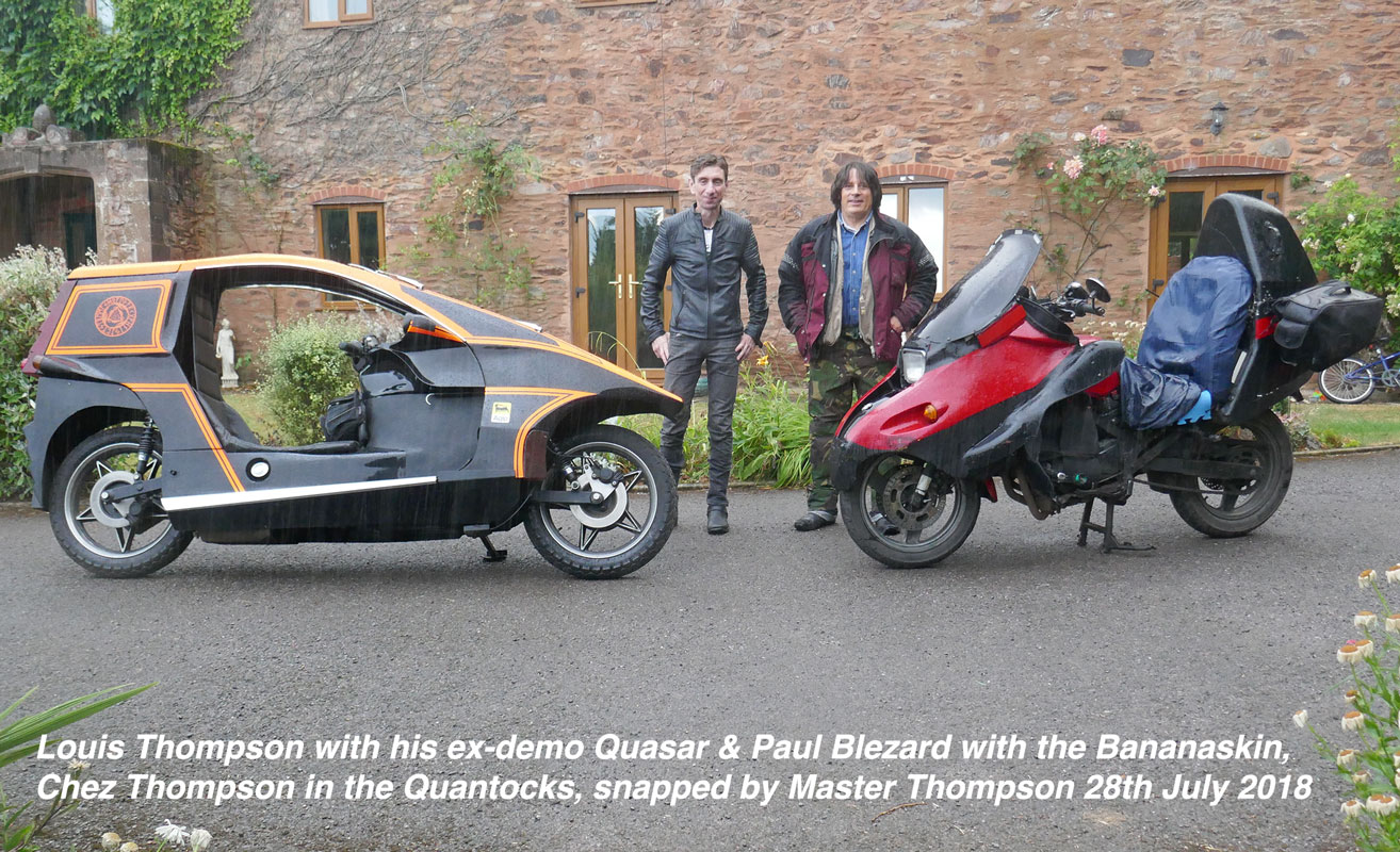 Louis & Quasar meet Blez & Bananaskin, at last!