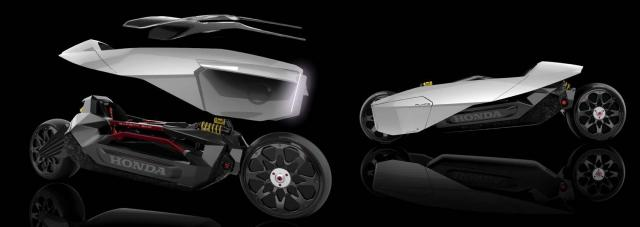 MORE from the 2025 Honda FF design school project...
