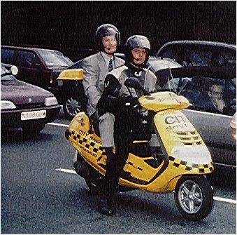 Piaggio Hexagon GT250 Scooter Taxi