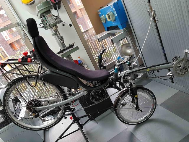 Recumbent Ready for Testing
