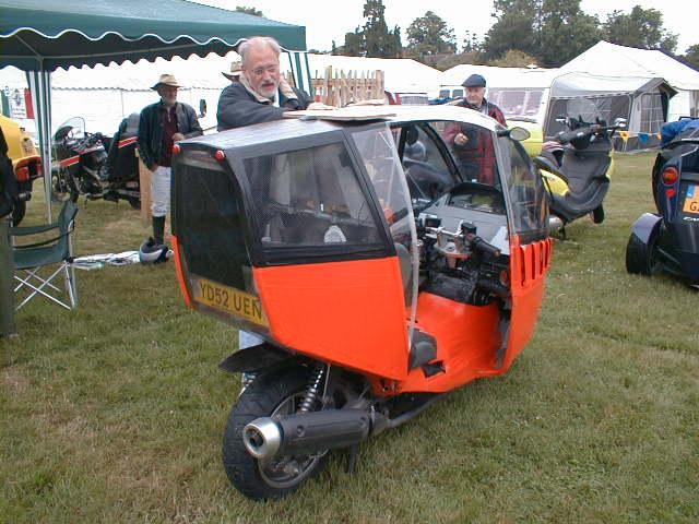 Genesis Mk2 and creator Beaulieu 2004