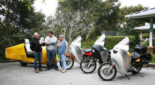 Vetter Family & 4 bikes