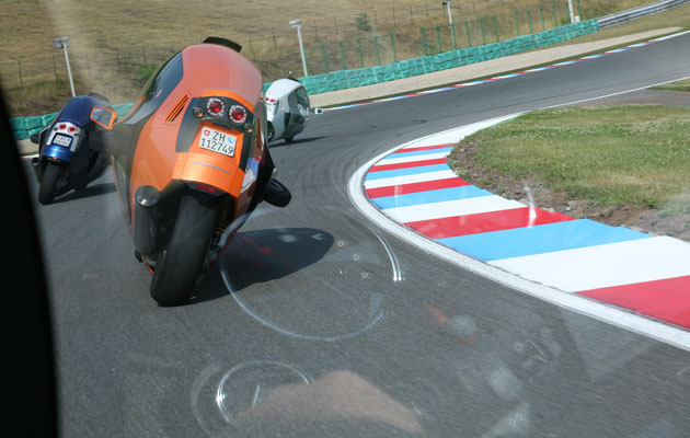 4 Monotracers on track at Brno