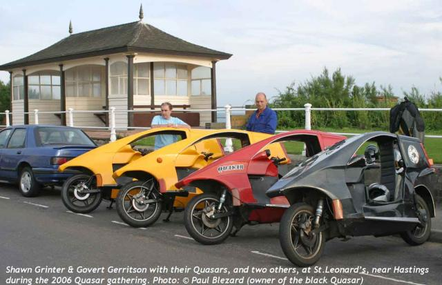 Shawn & Gerrit + 4 Quasars in 2006