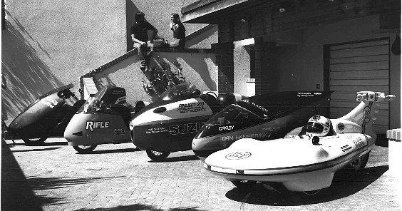 5 Aerodynamic bikes from Early Vetter Economy Runs