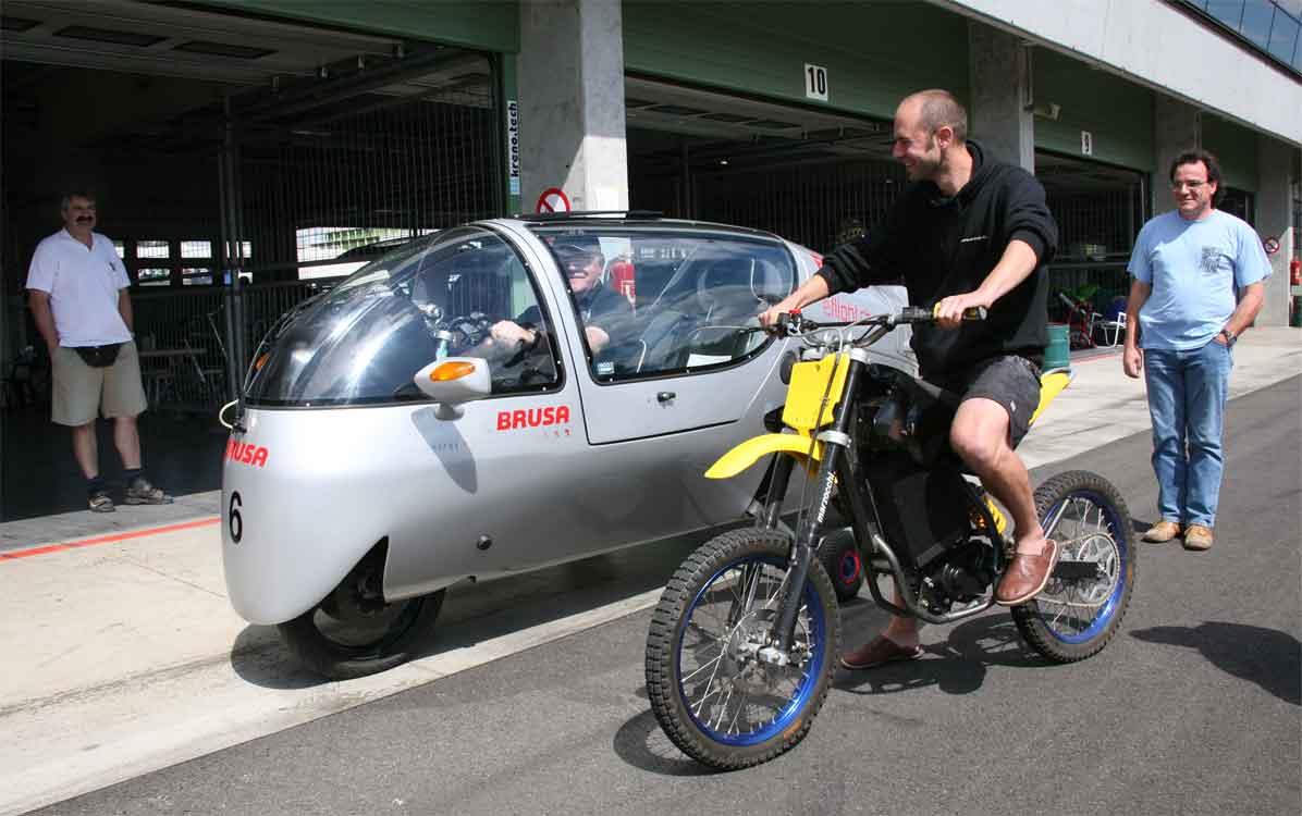 Electric Eco & Quantya Electric bike in 2008