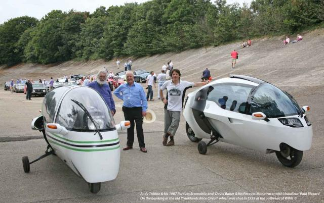 Monotracer & Ecomobile at Brooklands