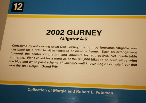Blurb for 2002 Alligator in Petersen Museum