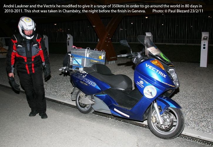 Round-the-World Vectrix, 2011!