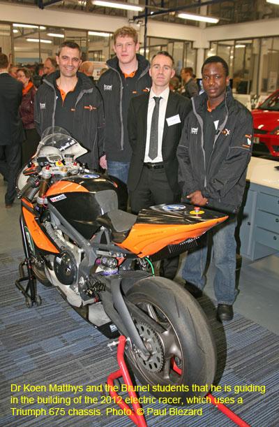 Brunel Electric TT Racer