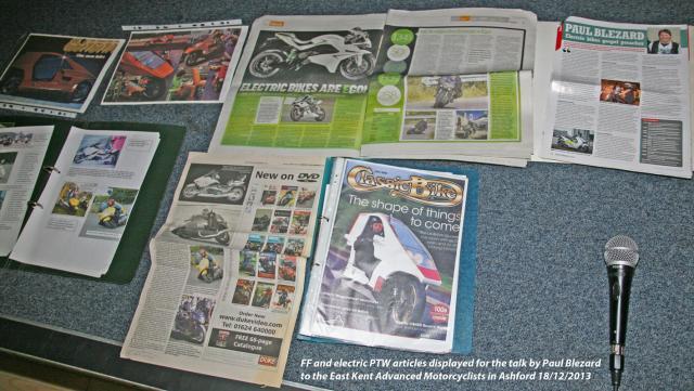 Blez FF & Electric articles 2000-2013