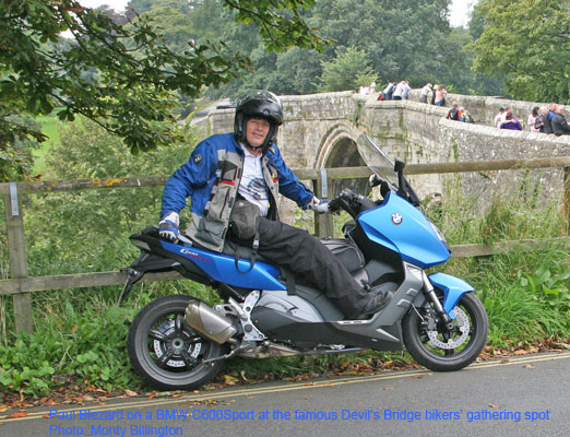 Blez on C600Sport at Devil's Bridge