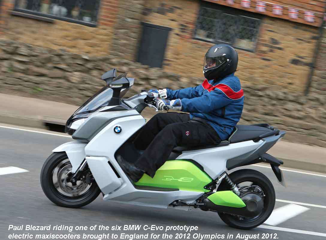 Blez on BMW's C-Evo in FF action