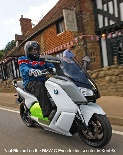 BMW C Evolution in England