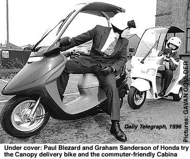 Honda Cabina & Canopy 1996
