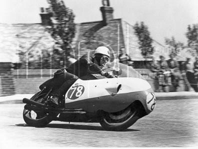 Bob Mac 1957 Gilera 500