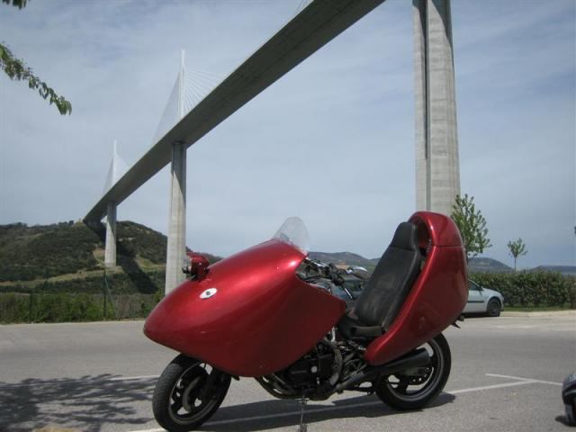 FF at Millau Viaduct