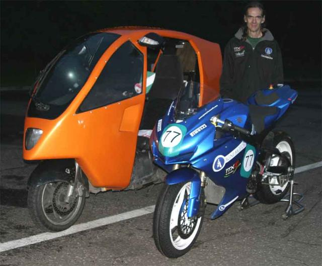 Cedric with Agni racer & Genesis
