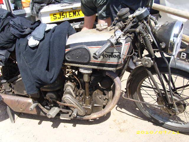 Oily rag Norton