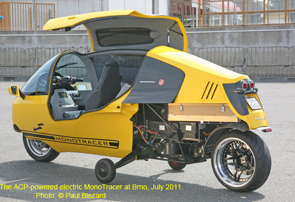 Electric MonoTracer At Brno, 2011