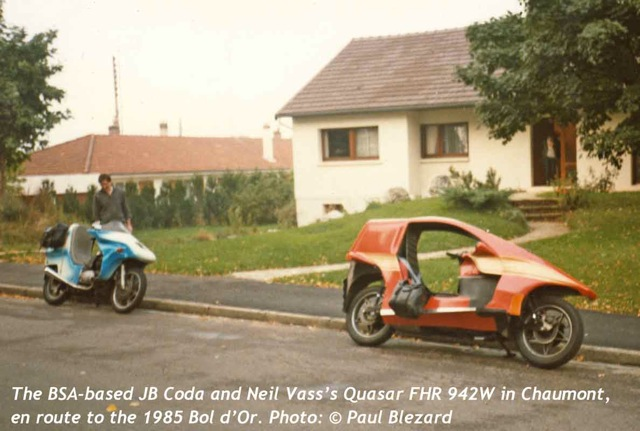 1985: FHR 942W returns to France, in Red, with BSAFF Coda