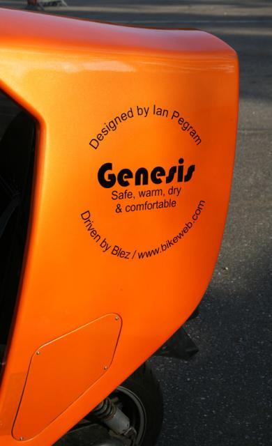 Genesis's New Sticker
