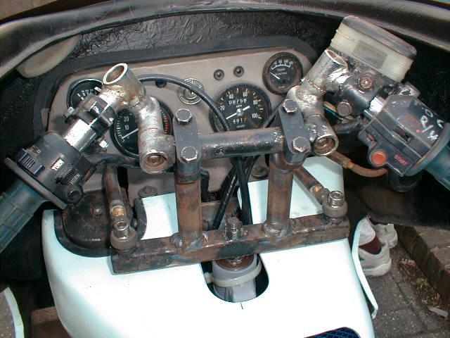 Delta cockpit
