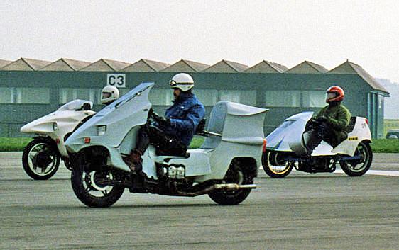 Tim Brown riding his GW Phasar