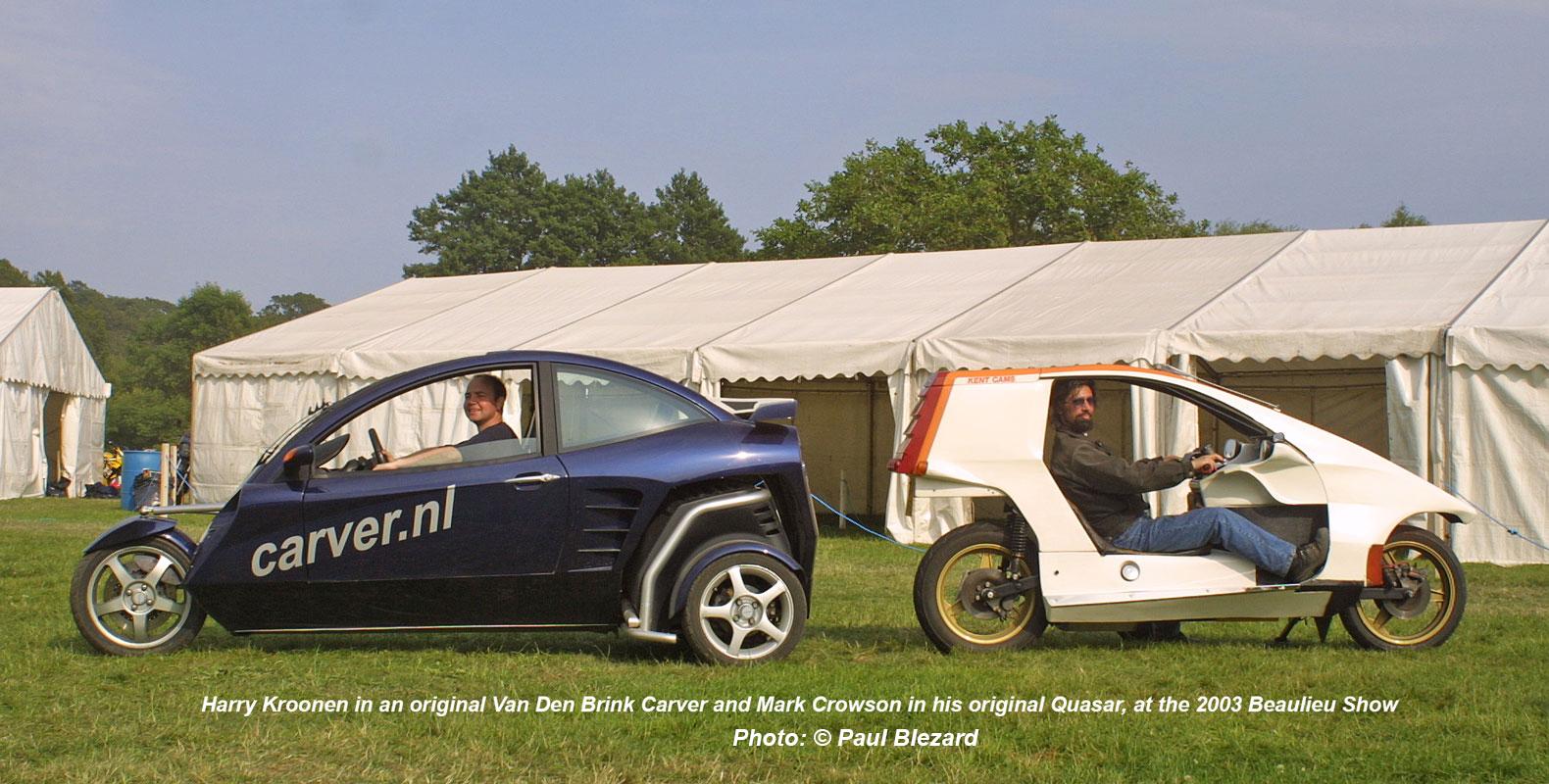 Carver & Quasar at Beaulieu 2003