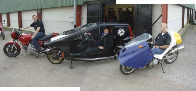 Quasar Meets Hesketh & BMWF650FF 2008