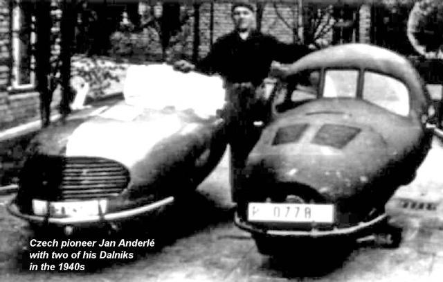 Jan Anderlé + 2 1940s Dalniks