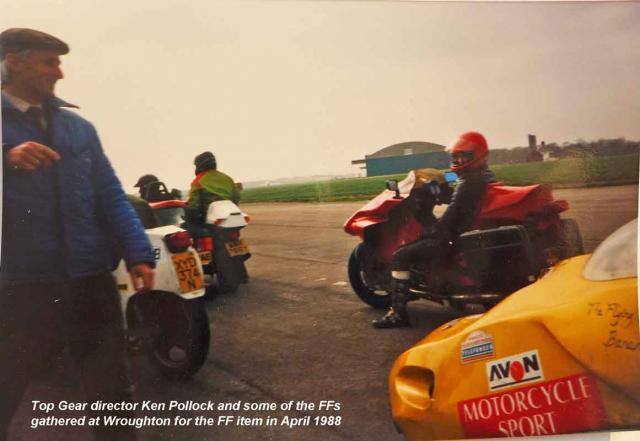 Top Gear Director Ken Pollock & FFs @ Wroughton