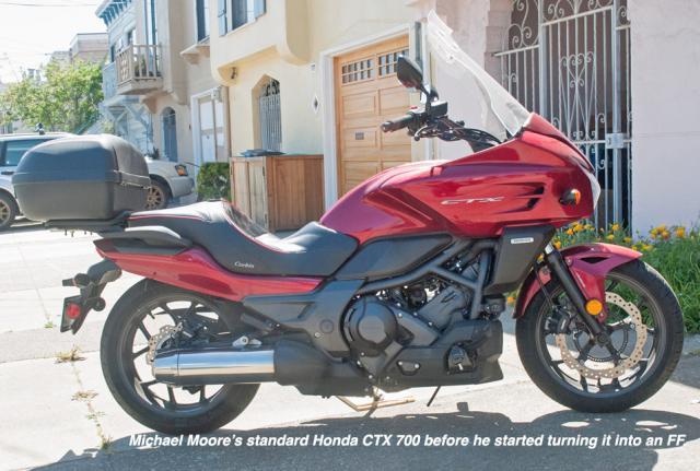 Honda's CTX700
