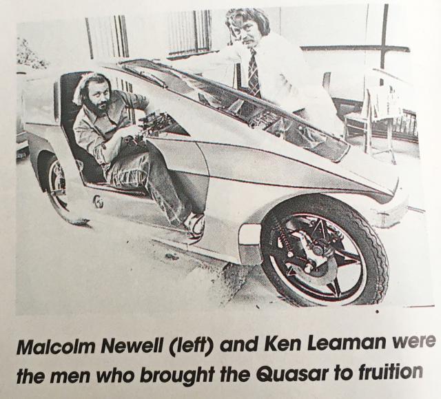 Malcolm Newell & Ken Leaman