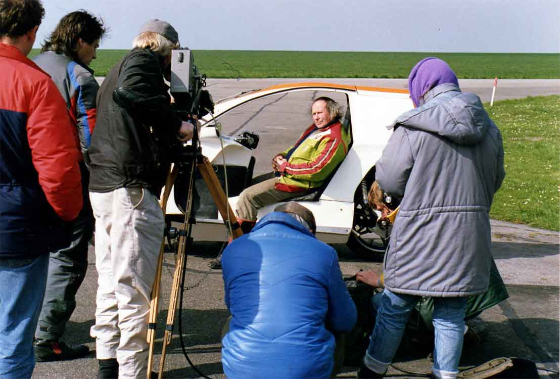 Malcolm Newell on Top Gear