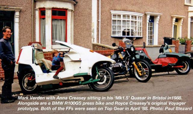 Mark Verden & his Quasar Chez Creasey 1988