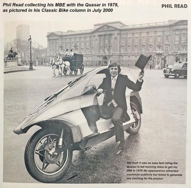 Phil Read MBE & Quasar 1979