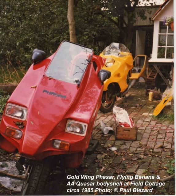 Assorted FFs at Field Cottage, c.1985