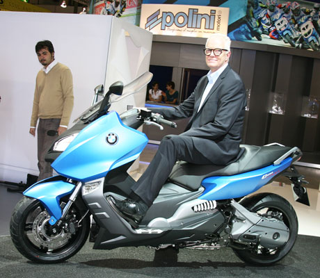 David Robb on BMW C600sport