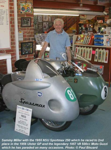 Sammy & 1955 NSU Sportmax 250