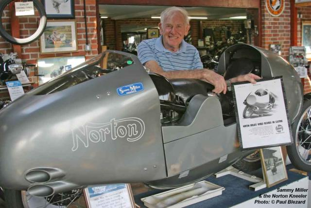 Sam & the Norton Kneeler