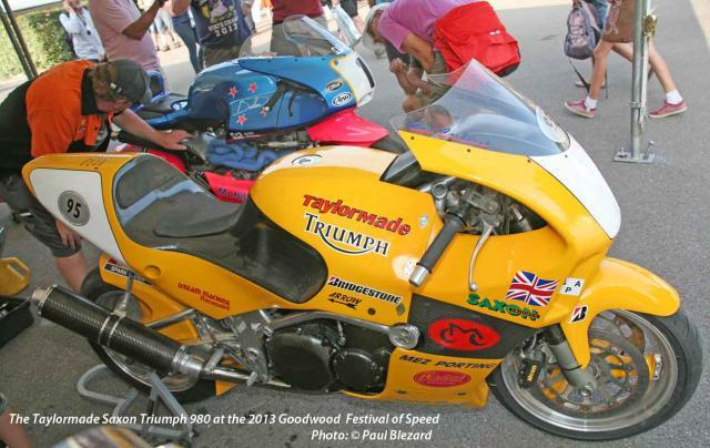 Saxon Triumph 980 with FFE