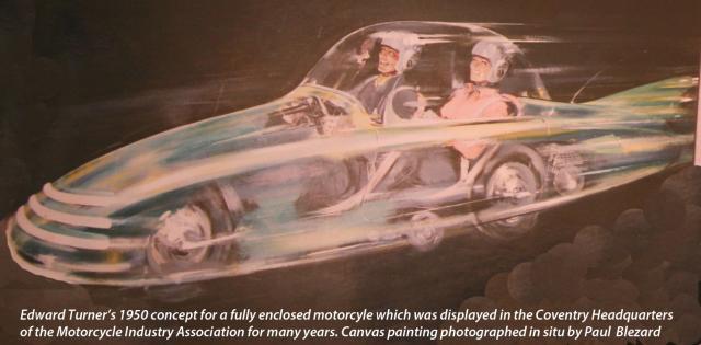 Edward Turner's 1950 FF concept