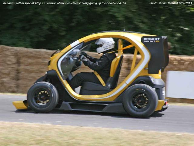97hp Renault 'F1' Twizy!