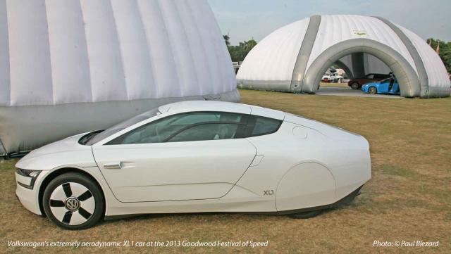 VW's '313mpg' XL1 hybrid