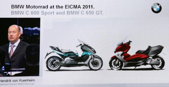 BMW C600 Sport & C650 GT