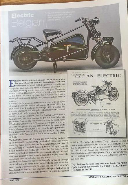 Electric Socovel (Belgium, 1941-1950-ish)