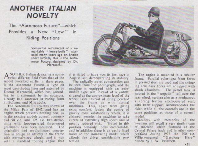 1949 Automoto Futuro