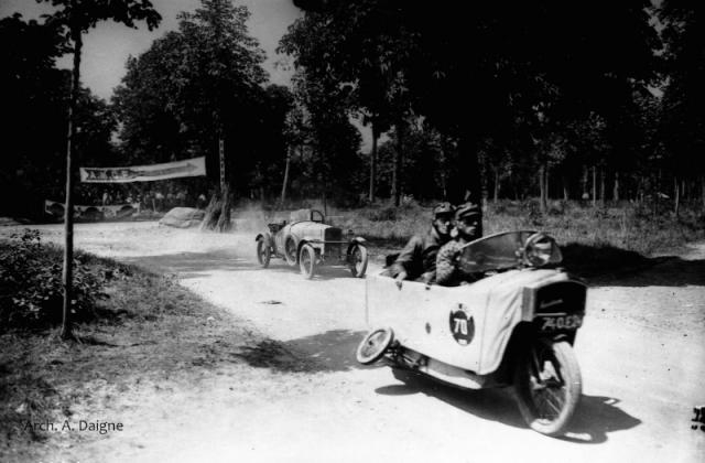 French-built Mauser Monotrace (Bol d'Or Race 1928)